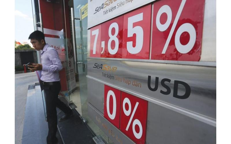 Lãi suất giảm thấp khiến tỷ giá có thể giảm 2% vào cuối năm